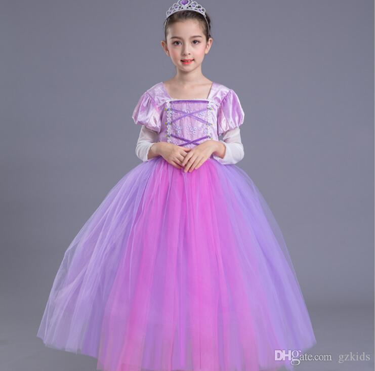 Christmas DressesGirl Party Dress Long Sleeve Baby Girl Clothes Kids Jersey Dress Princess Clothes for Children Clothing