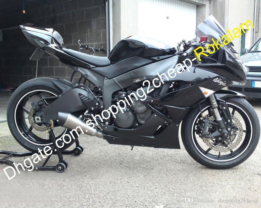Unpainted ABS Injection Fairing Kit For Kawasaki Ninja ZX6R ZX-6R 2009-2012 636