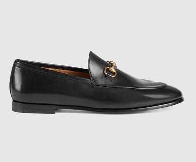 calzados informales de las nuevas mujeres de cuero hebilla de Horsebit 039 loafers.Leather única, estrella plana heelve horsebits.Bee bordado comfortab W1