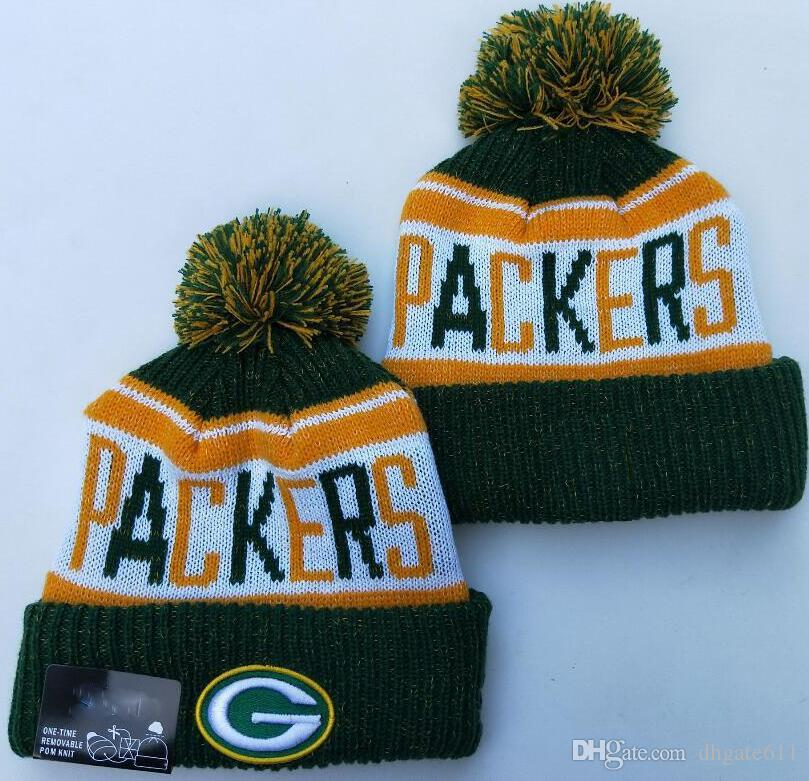 Wholesale Green Bay Beanie Gb Beanies Winter Cap Crucial Catch Pom Luxury Sport Pro Line By Fanatics Team Pom Cuffed Knit Hat Green Ties Dog Bow Ties From Dhgate611 4 63 Dhgate Com