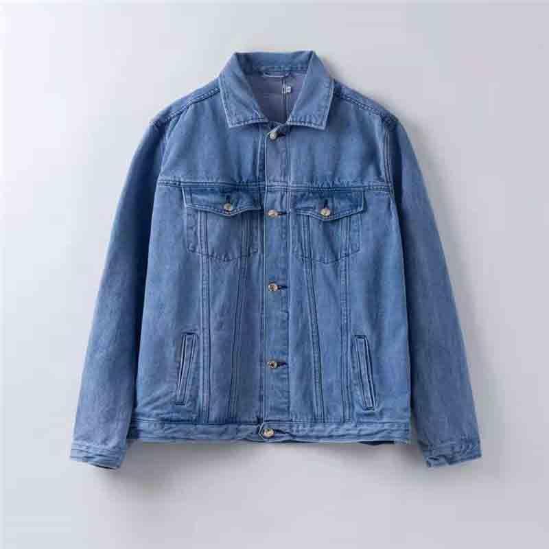 Para hombre de la chaqueta del diseñador Denim Escudo antumn Marca Outwear Hip Hop chaquetas de la motocicleta de la manera tapas letras impresas chaquetas