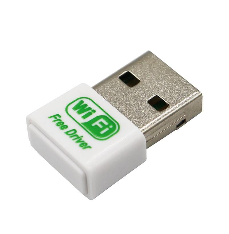 무료 드라이버 USB 와이파이 어댑터 150Mbps의 무선 Fi를 어댑터 2.4 기가 헤르츠 고출력 7601 USB 이더넷 PC 와이파이 어댑터 랜 와이파이 동글 와이파이 수신기