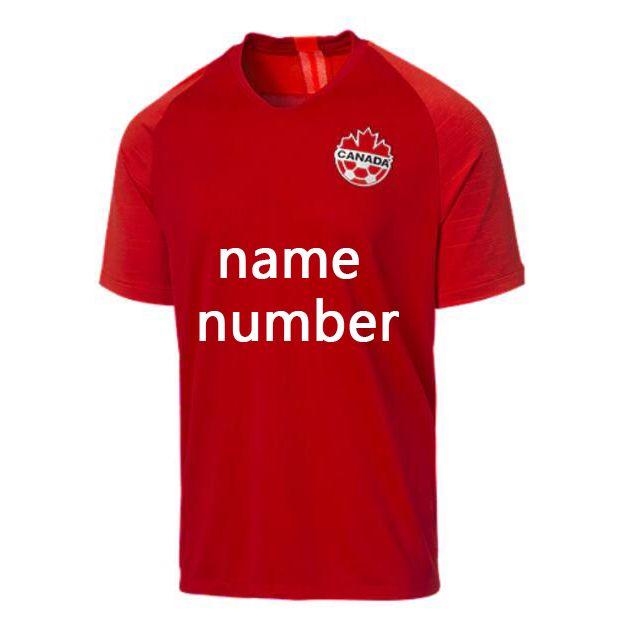 2019 2020 Золотая Кубок Канада Футбол Джерси Главная Красная HiLeett Футбол Футбол Топ Казада Канада Национальная Футбольная Рубашка S-4XL