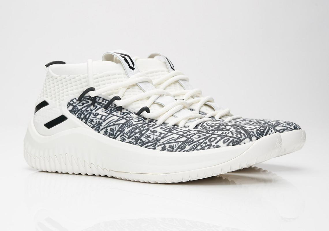 2020 Dame 4 граффити обувь для продажи с Box Top Quality новый Лиллард 4 баскетбольного обувной магазин с коробкой us7-US11.5