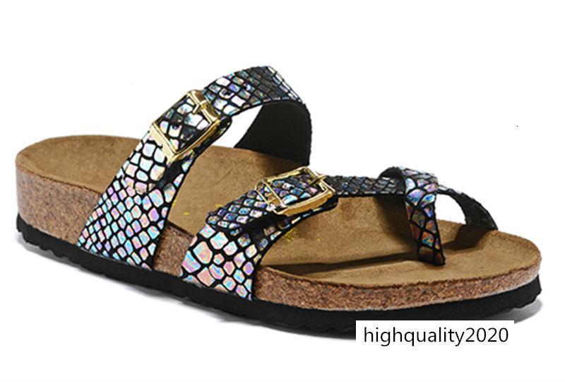 Mayari Florida Arizona 2019 der heißen Verkauf Sommer Männer Frauen Wohnungen Sandalen Cork Pantoffeln beiläufige Unisexschuhe Strandschuhe Größe 34-46 cfr4