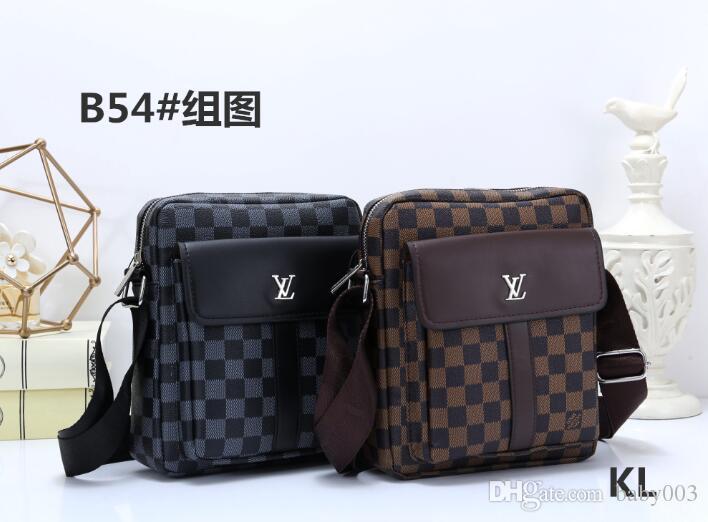 elegant appearance hot-selling newest new & pre-owned designer 2019 Hot New Arrival Men Designer Bags Brand Messenger Bag Crossbody Bags  Famous Fashion Pu Leather Briefcase B54 Shoulder Bags For Men Mens Leather  ...