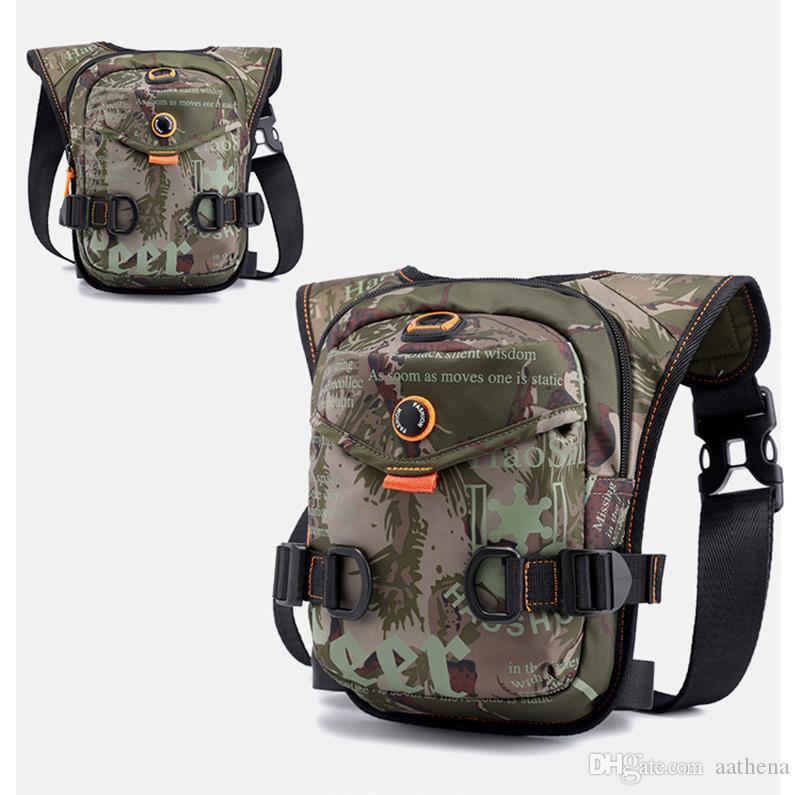 Nouveau équitation en extérieur Sac à dos jambe concepteur du sport multi-fonction fannypack concepteur sac de sport poches portable Messenger Bag