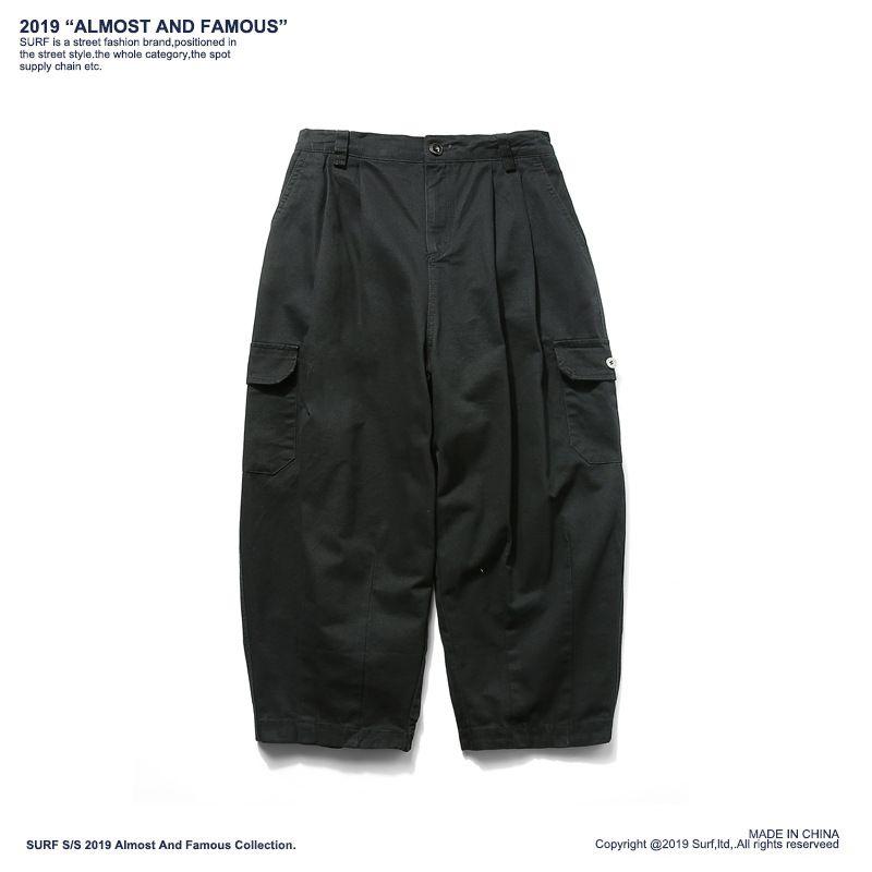 Venda quente Homens Corredores Shorts Verão Novos Homens Multi-bolso Militar Carga Shorts Masculino Streetwear Macacão Calça Curta 2019 Ypf411