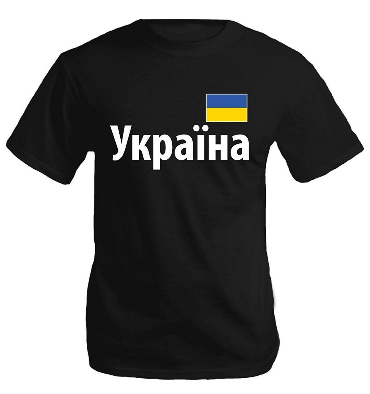 Ukrayna Ukrayna Pride futbolcu Moda T Gömlek 033.642 Of Komik Giyim Casual Kısa Kollu T Shirt Bayrak