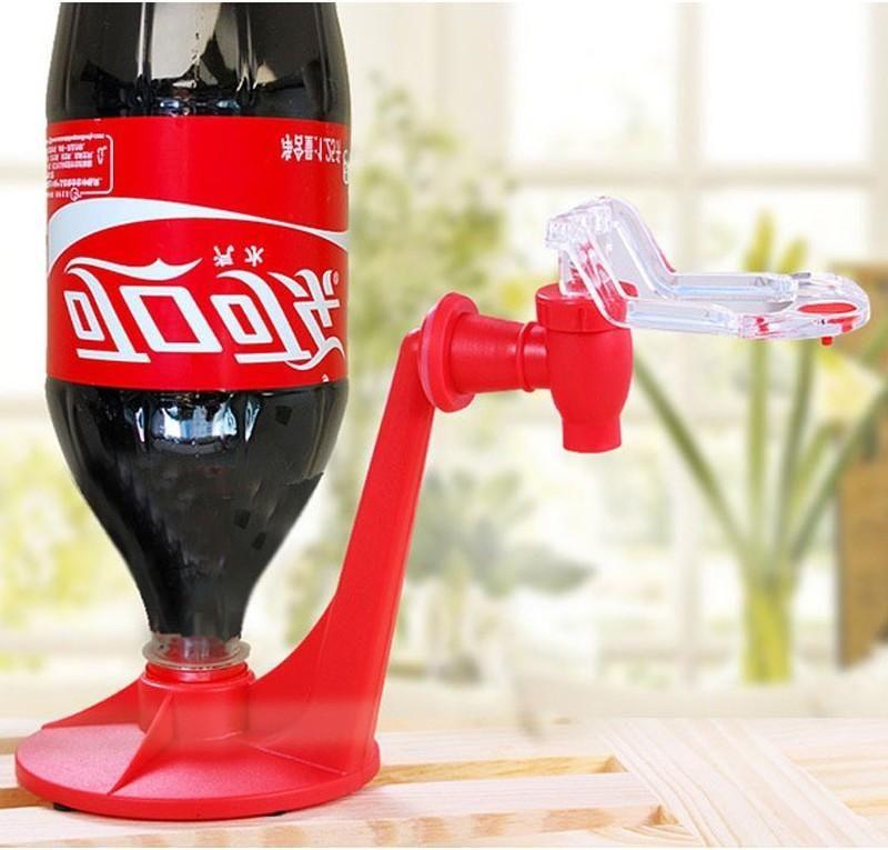 La bottiglia magica Tap soda del risparmiatore Dispenser Coke bevente inverso distributori automatici di distribuzione acqua Party Bar cucina gadget