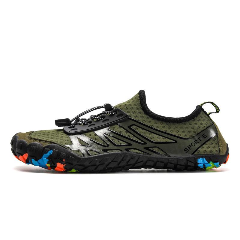 nuove scarpe di nuoto di svago personalità della moda maschile antiscivolo indossare scarpe outdoor confortevole di grandi dimensioni upstream