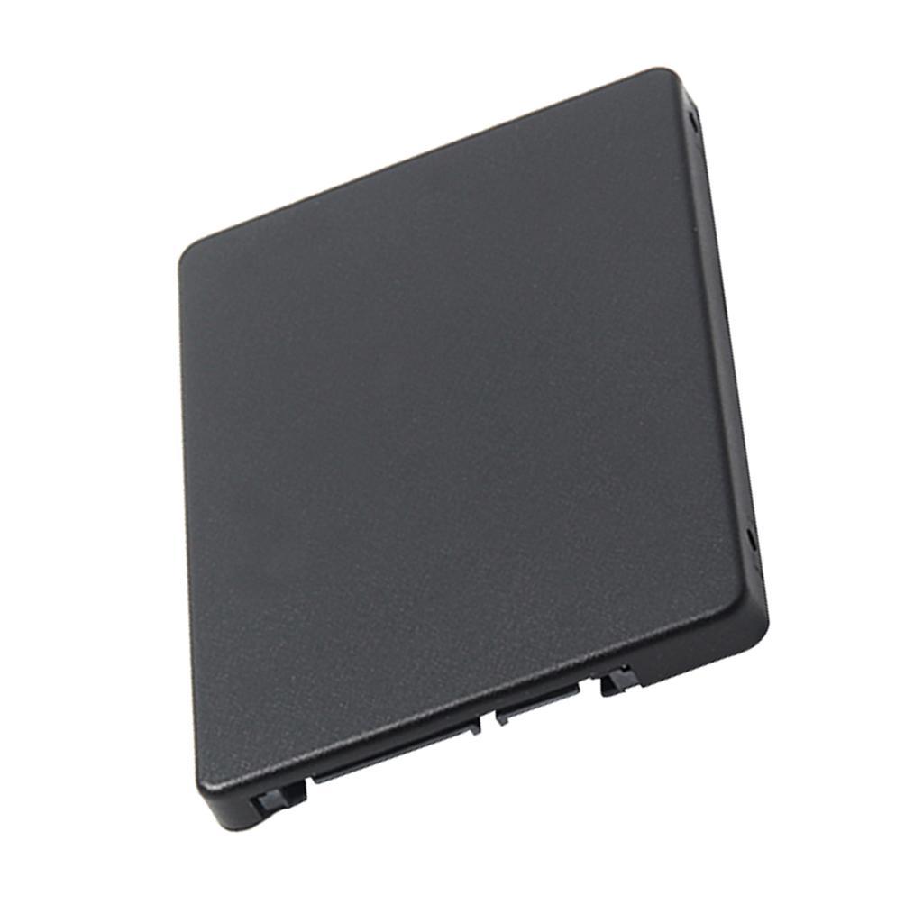 "Mini PCI-E SSD mSATA Para 2,5"" SATA conversor adaptador de cartão caso capa"