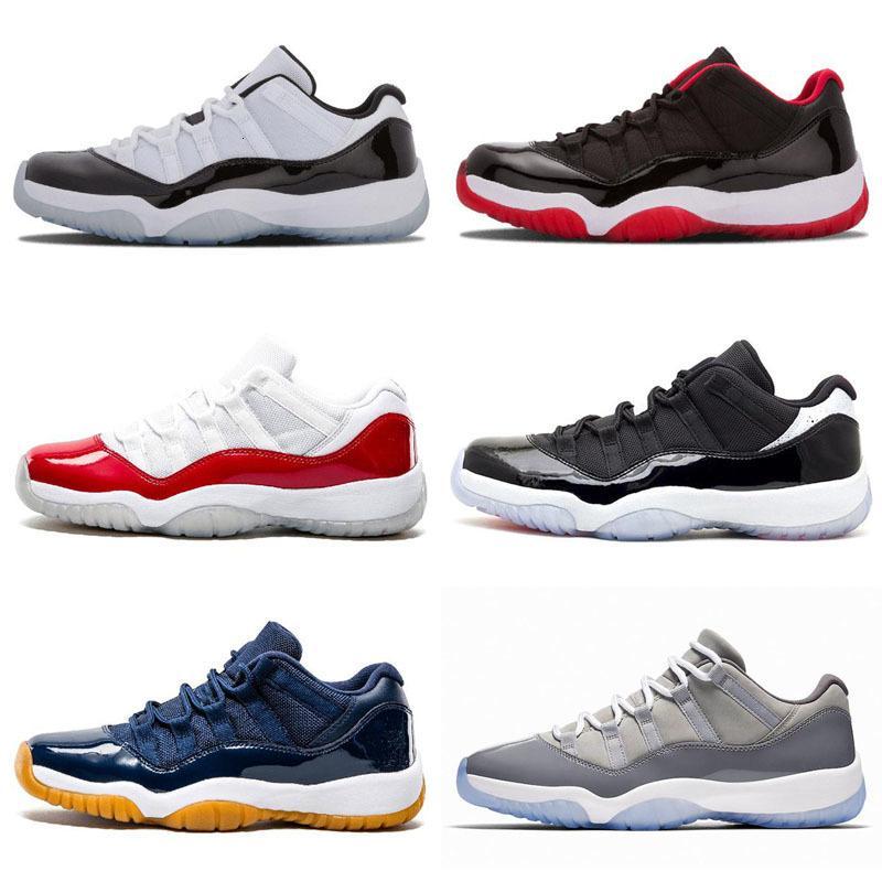 Concord alta 45 Jumpman 11 XI 11s tampão e do vestido PRM Heiress Gym Red Chicago Platinum Tint Espaço Homens Crianças basquete Sneakers calçados esportivos