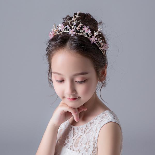 1 PC Meninas Do Bebê Mulher Princesa Hairband Partido Da Criança Nupcial Coroa Tiara de Cabelo Tiara Cabelo Faixa de Cabelo Acessórios
