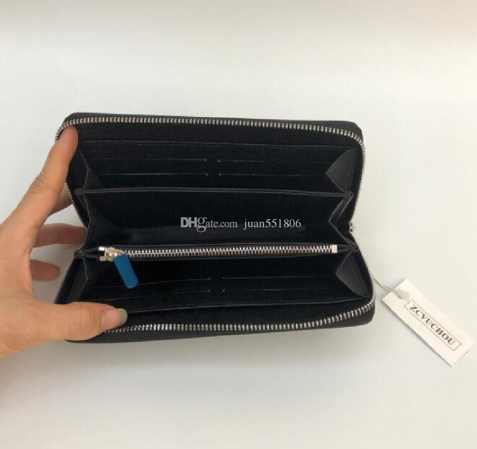 progettista designer frizione portafogli borse borse donne raccoglitori sacchetto di cuoio sacchetto di spalla del progettista del supporto di carta della borsa con la scatola 60017