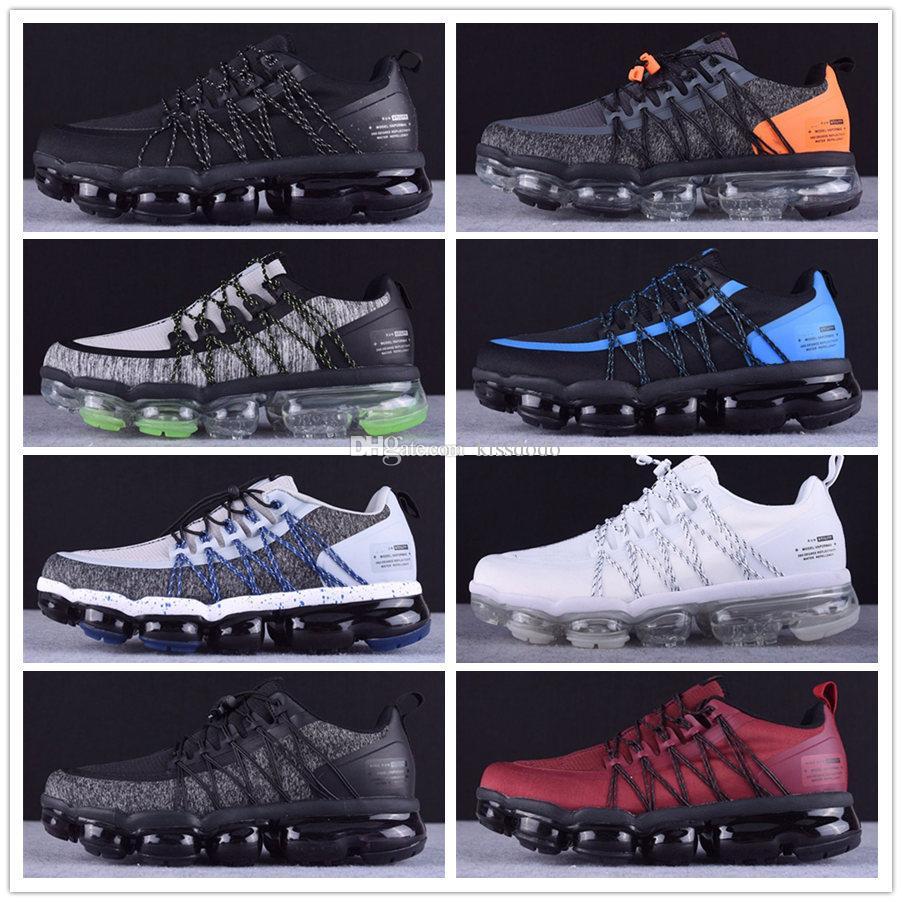 2019 Moc 2 деблокирования Мужского Laceless Multicolor тройные черные кроссовки воздушная подушка Moc обувь кроссовки Спортивных тренажеры Гонщик обувь Size40-45