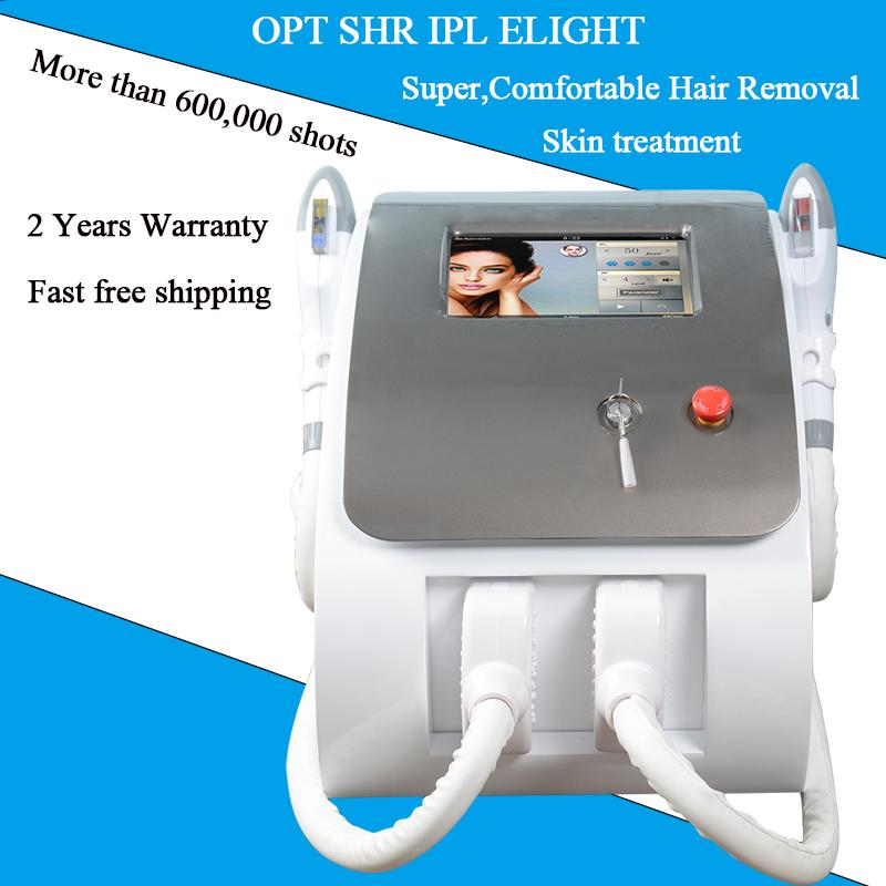 UK imported lamp IPL hair laser equipment 2500W OPT SHR Fast Hair Removal System FDA approved