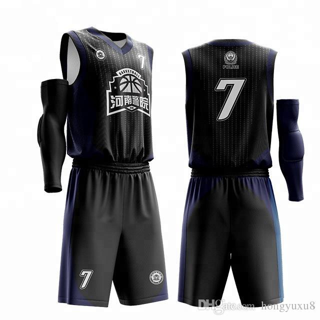 Son tasarım erkek basketbol forması Ücretsiz tasarım mevcut özel formaları çevrimiçi