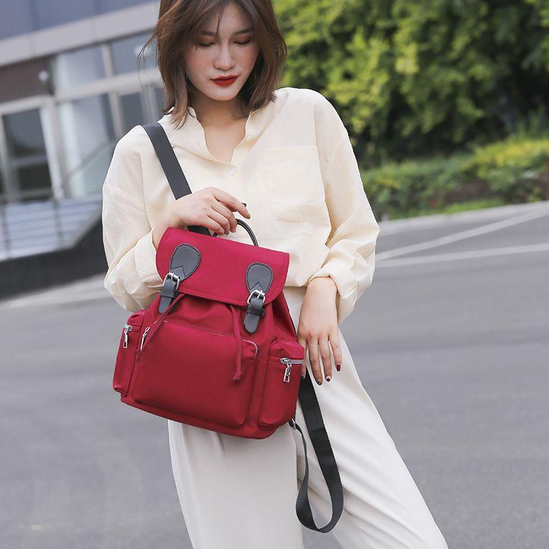2020 новые дамы рюкзак Корейский моды случайные простой Оксфорд ткань легкий большой женский рюкзак емкости