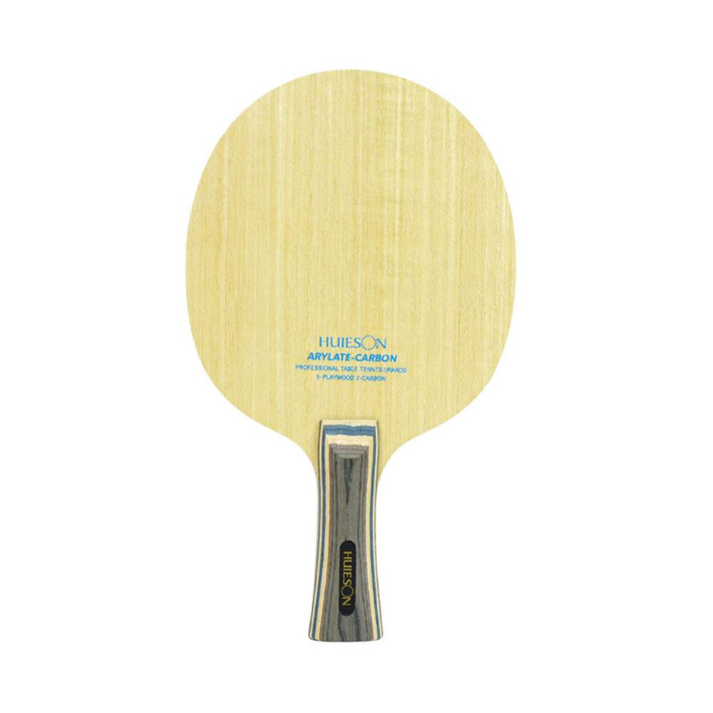 Huieson 7 Ply Arylate Carbon Fiber Table Tennis Blade Lintweight Ping Pong Racket Blad Table Tennis Supplies T200410