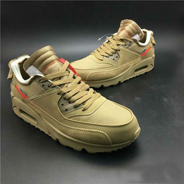 2020 de la alta calidad de los zapatos corrientes 90 V2 desierto Ore para hombre Negro Sport zapatillas de deporte al aire libre diseñador de zapatos zapatos para correr