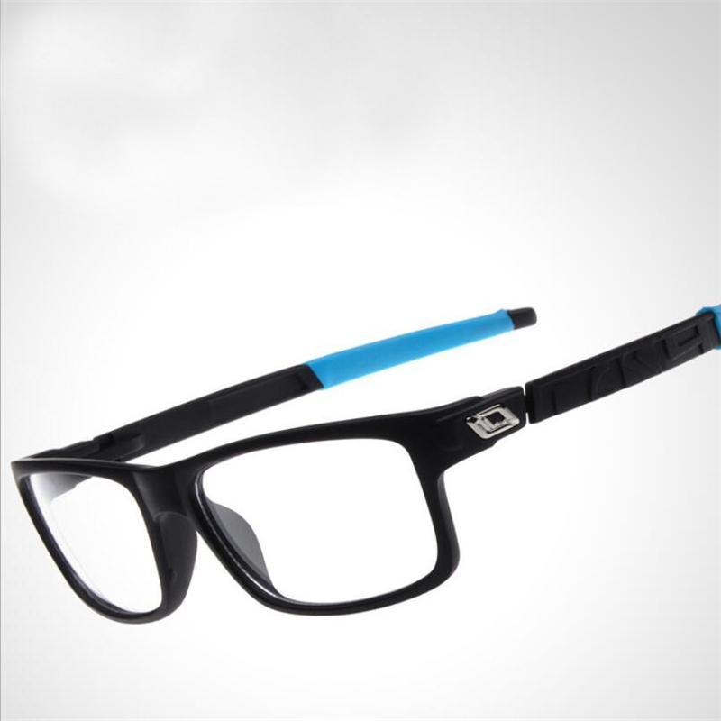 Safe Explosion-proof Sports Glasses Frame Women Men Elasticity Outdoor Riding Eyeglasses Frame lunette de vue femme