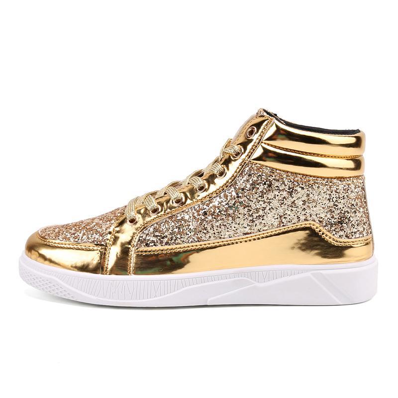 Leves caminhadas sapatos confortáveis Casual Mens Sneaker respirável antiderrapante resistente ao desgaste de passeio exteriores Mulheres Sapatos de desporto Sequins