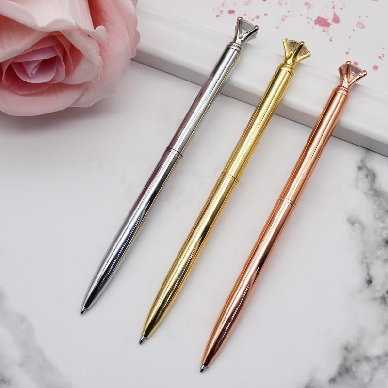 الماس قلم حبر جاف ركلة جزاء هدية ذكية العودة إلى القرطاسية المدرسية مكتب توفير شعار مخصص WJ099