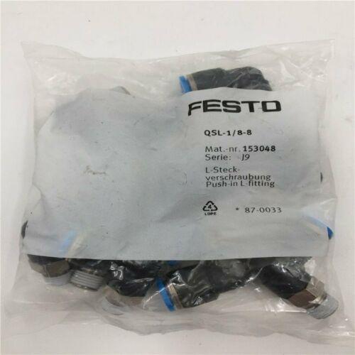 1bag / 10PC New Для FESTO QSL-1 / 8-8 153048 SPOT АКЦИИ
