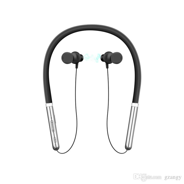 Wireless Neckband Headphones Noise Cancelling Mic Bluetooth Earphones Ipx5 Waterproof Sports Headset For Running Magnetic Earbuds Wired Cell Phone Headsets Wireless Cell Phone Headsets From Gzangy 10 66 Dhgate Com