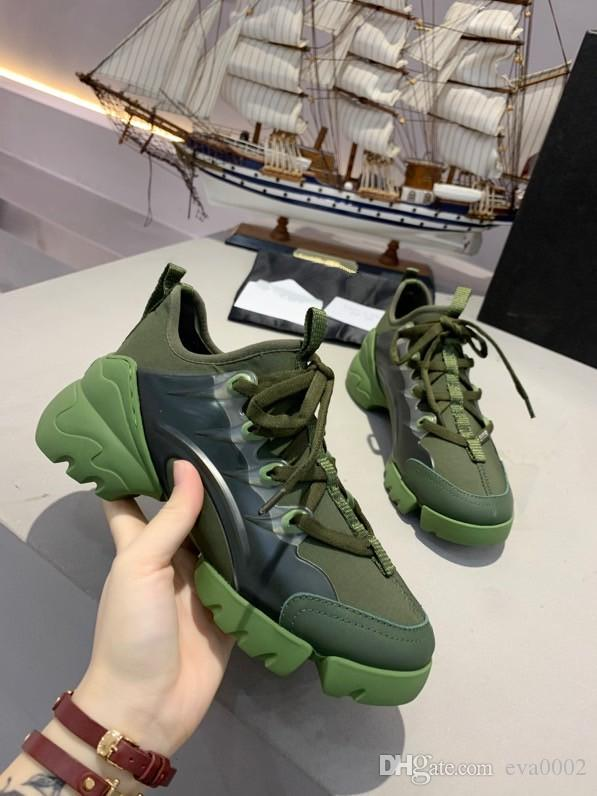 2020 nuevo diseñador de moda suelas hombres y mujeres de gran tamaño de encaje zapatos de alta calidad 35-45 xr200410