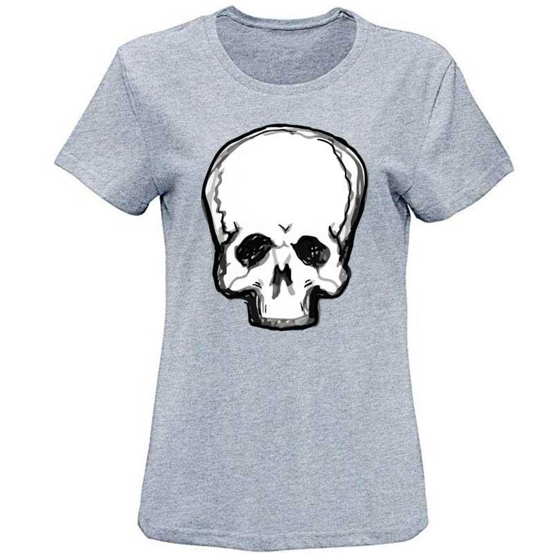 Erkekler Normalden Grafik İnsan Kafatası Tişört Slim Fit Erkekler Tişört Plus Size S-3XL Yenilikçi Tee Gömlek