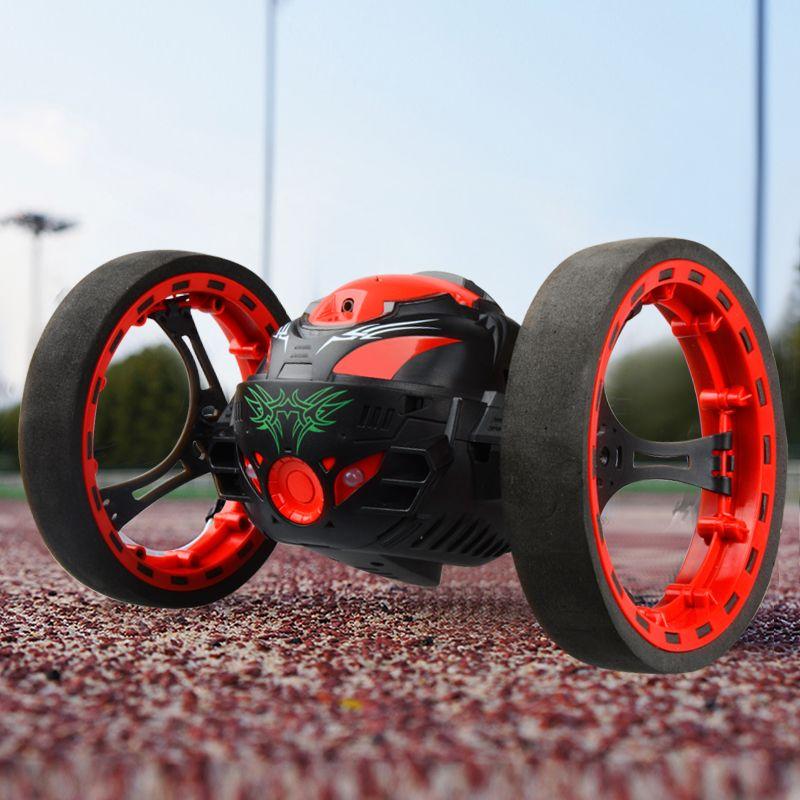Atacado PEG Carros SJ88 Bounce RC Carro 2.4 GHz Rodas Flexível Rotação LEVOU Luz de Controle Remoto Mini Carros Carros