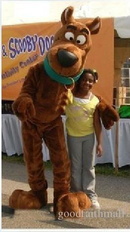 2019 горячая распродажа Scooby scooby-doo мультфильм собака плюшевый костюм талисмана морское животное костюмы талисмана взрослый размер