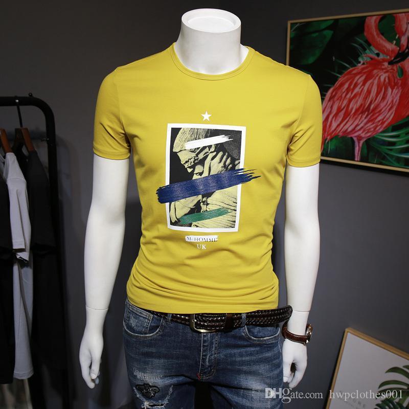 De lujo del diseñador camisetas del verano mejor parque ventas en corto para los hombres agradable de la calidad de diseño de moda para hombre Grandes cuadro diseñador del logotipo camiseta