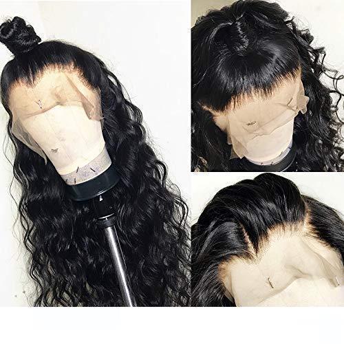 Bouclés 360 Dentelle Frontale Perruques De Cheveux Humains Pour Les Femmes Sans Colle Brésilienne 360 Dentelle Perruque frontale pincées haute chignon queue de cheval