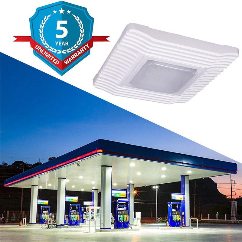 UL DLC 60W 100W 150W Tankstelle LED-Überdachung-Licht LED-Scheinwerfer im Freien Flutlicht-LED-Lampe High Bay-Leuchten AC 100-277V Lager