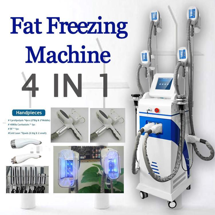 2020 Горячая машина для похудения Zeltiq Cryolipolysis Липосакция 4 Ручка Замораживание Cryolipolysis Lipo Cryo Криотерапия Жир Замораживание машина