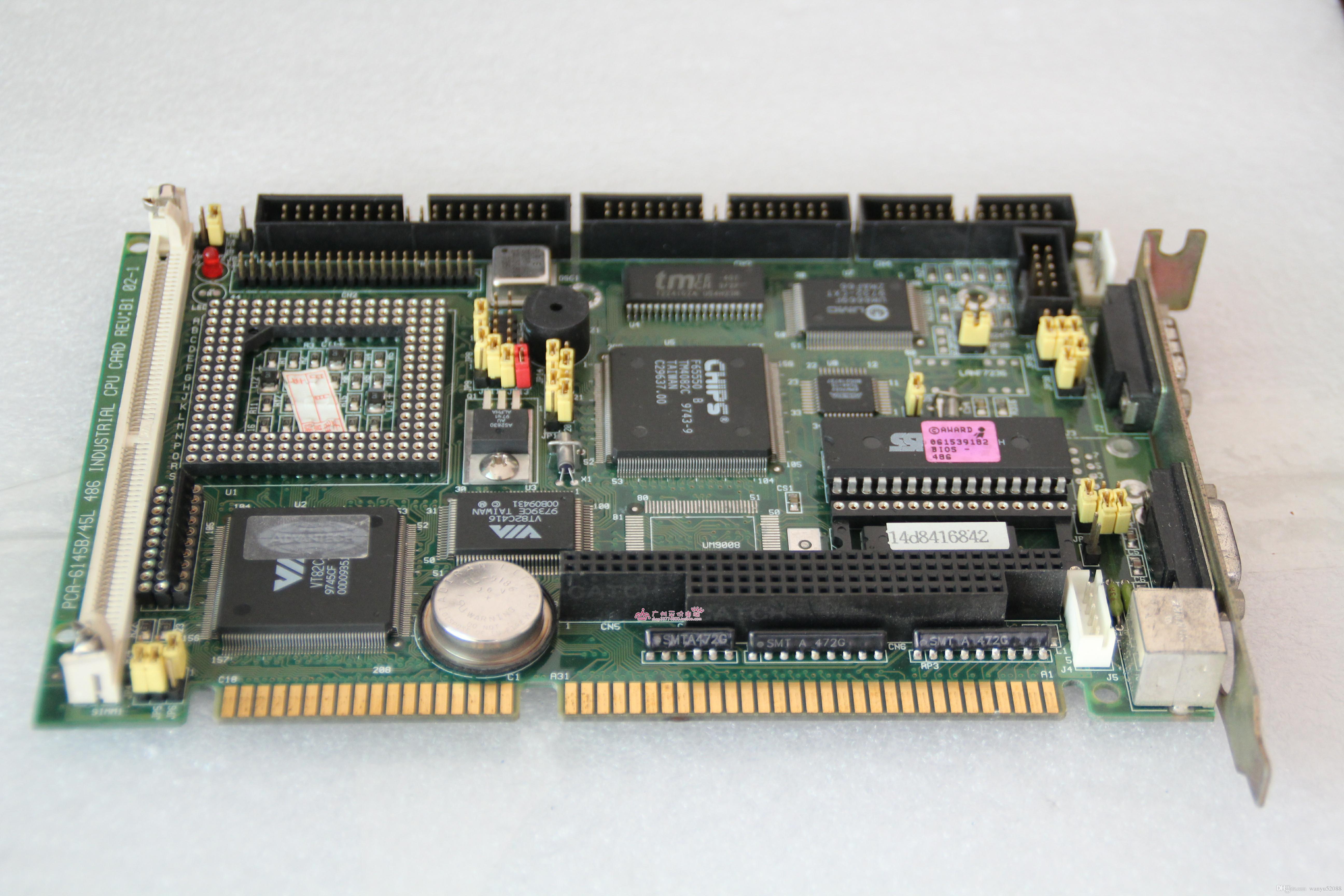 100% испытала работу Идеально подходит для Advantech ПК-6145b / 45L 486 CPU REV: B1 материнской плата промышленного контроля