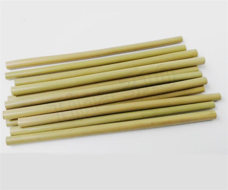 Новый бамбук солома 23см многоразовой соломинка экологичных поставки напитки соломки уборщик щетка трубочка инструменты сторонних 4935