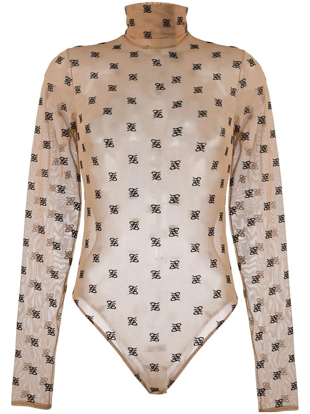 2020 Nueva el traje de baño estera de diseño más reciente es el de gasa neta ver a través de traje de baño atractivo del traje de baño femenino siameses cuerpo de bikini
