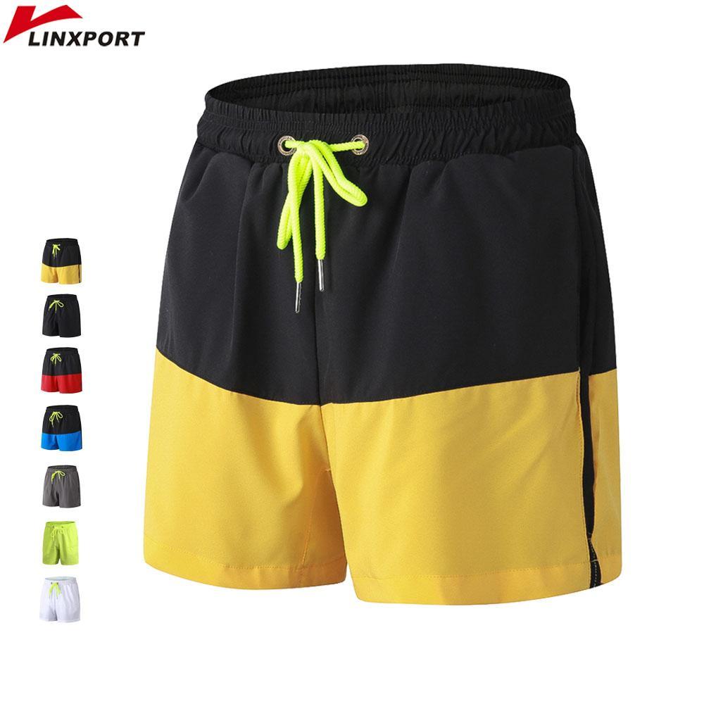 Hommes Sport Running Short Entraînement Tennis Entraînement Court Dry Fit Fit Jogging Lâche Sportswear Pour Hommes Gym Wear Trunks Avec Poche C190420