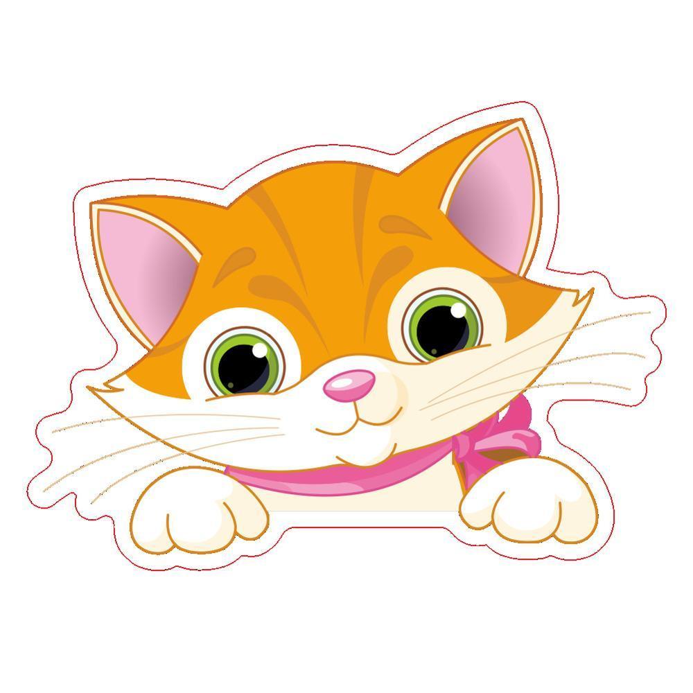 홈 벽 장식 스티커 DIY 귀여운 고양이 개 스위치 스티커 벽 스티커 침실 팔러 온 - 오프 및 소켓 장식 벽 스티커