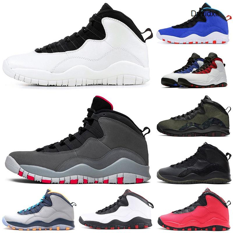 2019 Designer Basketball shoes 10 10s Cement white Black grey Westbrook Class of 2006 chicago Im back mens Athletic sports sneakers 7-12