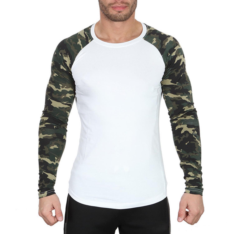 Mens designerFitness Sportstrumpfhosen elastische lange Ärmel Blume Arm schnell trocknend Kompression T-Shirt