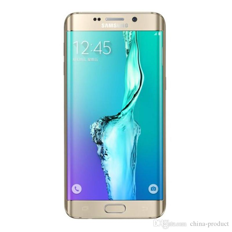 "Original Samsung Galaxy S6 EDGE+ Plus Unlocked 4G LTE Phone G928F/G928A/T Octa Core 5.7"" 16MP RAM 4GB ROM 32GB Refurbished"