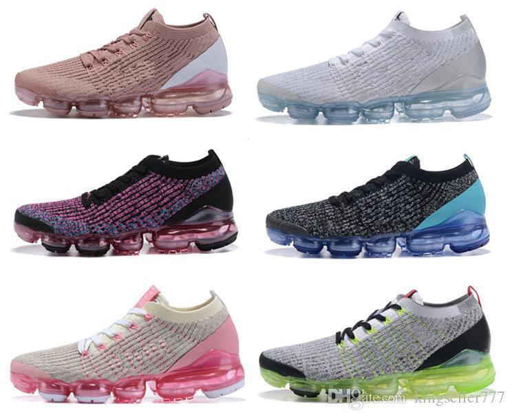 2020 2019 Erkekler Kadınlar Platin Siyah beyaz Tenis sneaker Plyknit Spor siyah beyaz gri Ayakkabı Koşu tüm eğitmen boyutunu 36-45 maxes