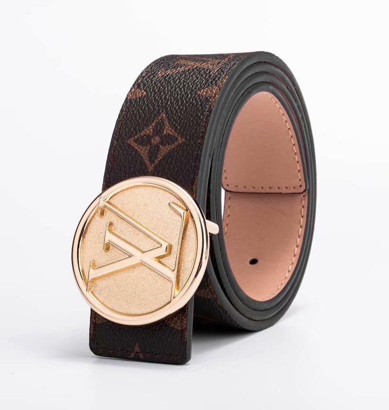 el envío libre para diseñador de los hombres a estrenar de estilo Belts1 clásico de alta calidad realmente cinturones de moda de cuero hebilla de latón de calidad excepcional
