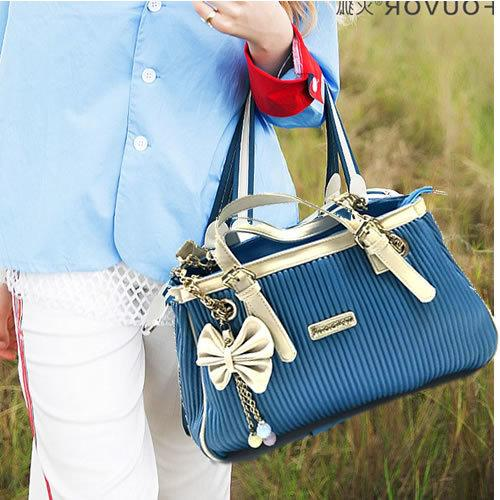 Lucky2019 Shi Snoopy Nu Than Bow Pendant Portable Woman Package Concise Will Capacity Single Shoulder Bale