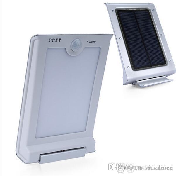 46LEDs LED Solar-Straßenleuchte Bewegung pir Sensor Solar-Außenleuchten Garten Sicherheit Lampe Außen Straße wasserdicht Lichter Wand